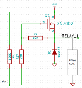 buggy relay interface